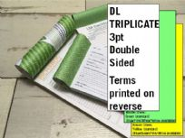 DL Triplicate - 3 part (3pt) Double Sided